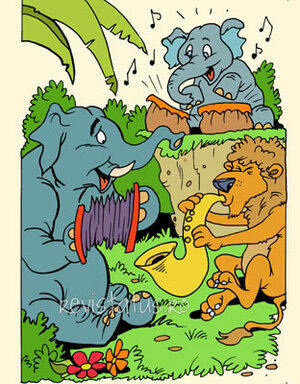 story Frederick the Elephant Toddler