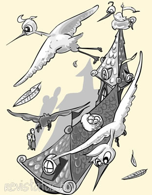 Illustriert Geschichte: Der Brunnen am Ende des Regenbogens