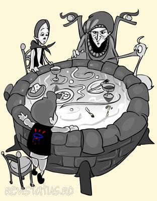 Conte illustrée: La fontaine du bout de l'arc-en-ciel