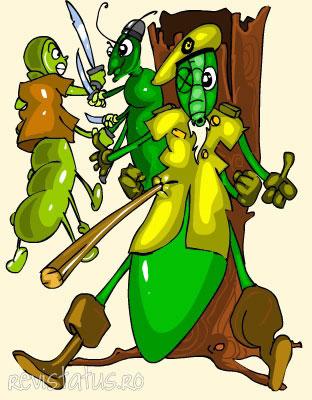 Illustrated Story: Myrmidone the Caterpillar II