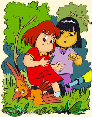 Mesék gyerekeknek Ayako, Ilinka és a szőke herceg