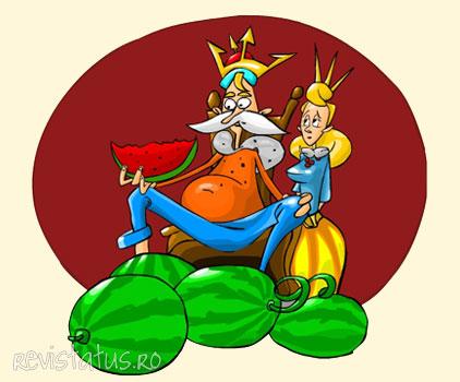 povestea Regele Harbuz