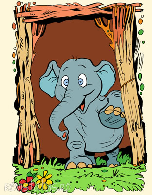 Illustrated Story: Frederick, the Elephant Toddler 3, Stories for ...