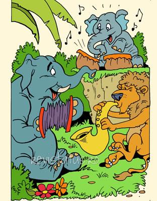 Die geschichte Frederico, der kleine Elefant