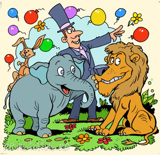 Frederick, the Elephant Toddler, Stories for kids, animated ...