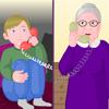 Tante Mathilde invente des histoires