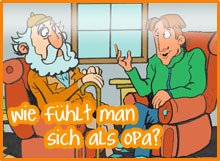 Wie fühlt man sich als Opa?