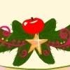 Colind cu măr roșu